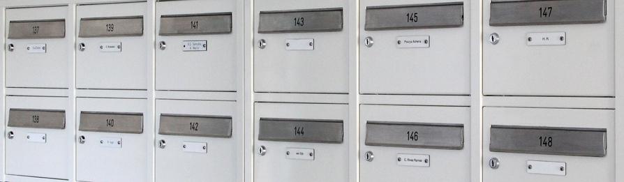 opbouw brievenbussen flat
